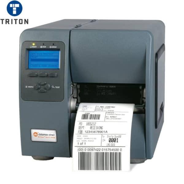 Datamax Printer M-4206 203DPI Direct Thermal + LAN + Peel & Present + Rewind