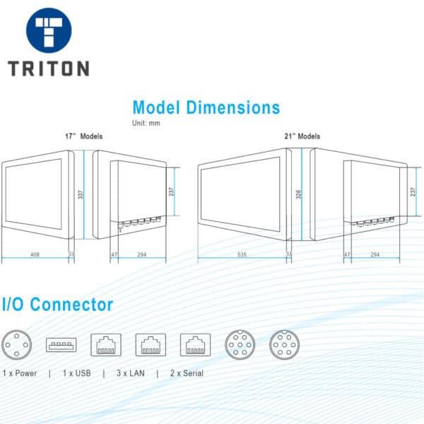TSi21.5 Industrial Touchscreen PC - TSI3PCT215SS