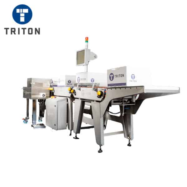 Automatic Weigh Label Applicator for Cartons