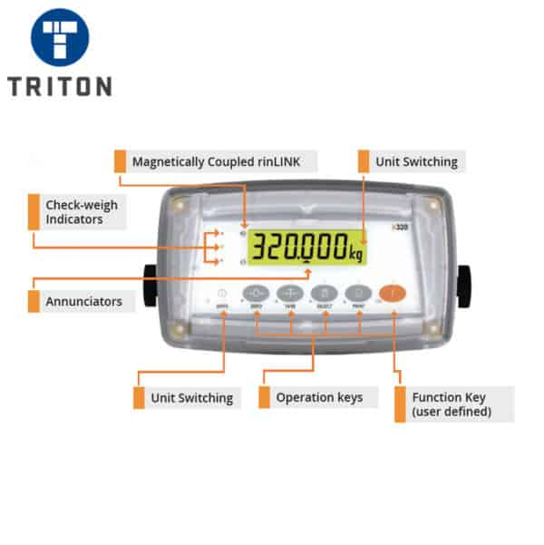 Triton Scale Indicator - X320