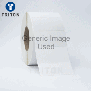 Thermal Poly Label 80x55 White