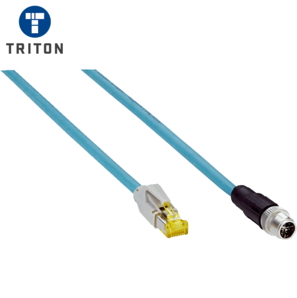 SICK 5 Metre 8 Way Network Cable for Lector 63X Series 6049729
