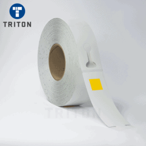 Thermal Carcase Tags 50x257 Ptd Yellow Square