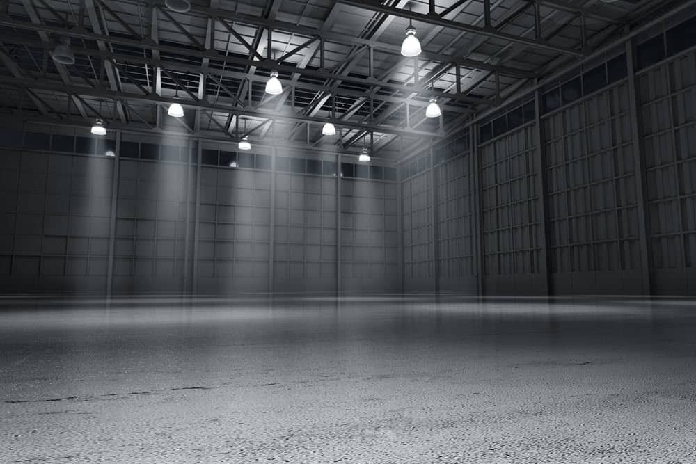 Empty Warehouse Datamax Printers